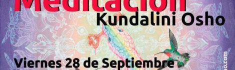 Meditación Kundalini Osho, viernes 28 de septiembre