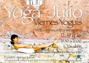 Viernes yoguis en el Centro Surya